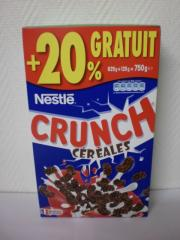 CEREALE CRUNCH 750G