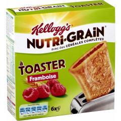 KELLOGGS NUTRIGRAIN FRAMBOISE 240G