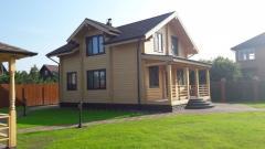 Maison en Bois - poutres