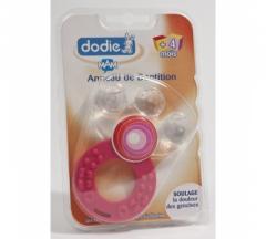 Anneau de dentition coloris rose - Dodie