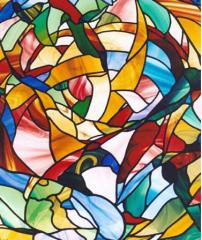 Stained-glass window classic