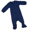 Pyjama trêfle bleu de minuit