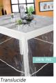 Cote table Translucide