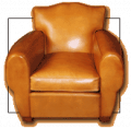 Large Fauteuil-Club
