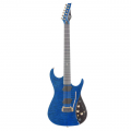 Guitare electrique paul vo collector edition navy mist
