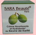 Crème nourrissante et hydratante Sara