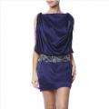 Robe Clea Bleu Electrique
