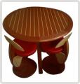 Table Pont diamétre 100cm