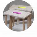 Petite table 'Kursi'