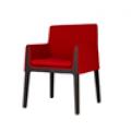 Fauteuil design H wengé