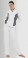 Veste de survêtement bicolore femme