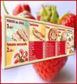 Les menus board system lumineux avec système