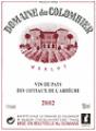 Vin rouge cuvée  Merlot