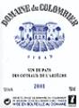 Vin cuvée Syrah