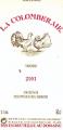 Vin  Colomberaie Viognier blanc