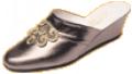 Mule cuir Pompadour