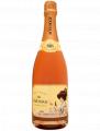 Le champagne Rosé brut