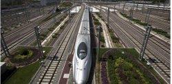 Une compagnie chinoise rappelle 54 TGV