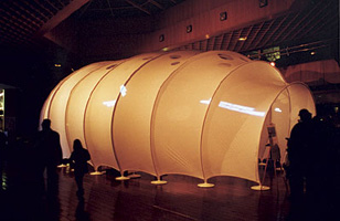Commande Construction de sculpture textile