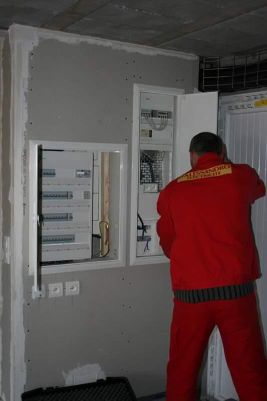 Commande Électricité