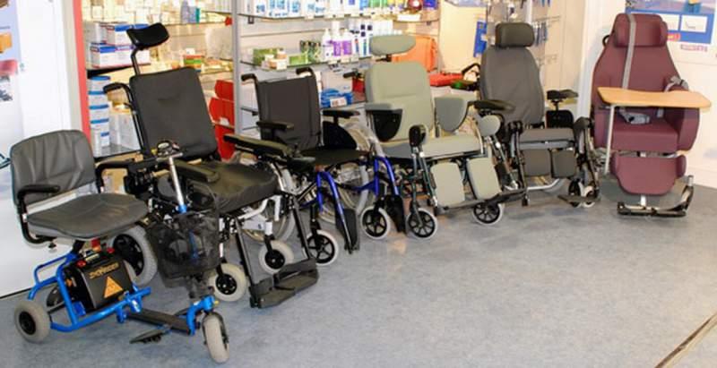 Commande Réparation de fauteuils roulants