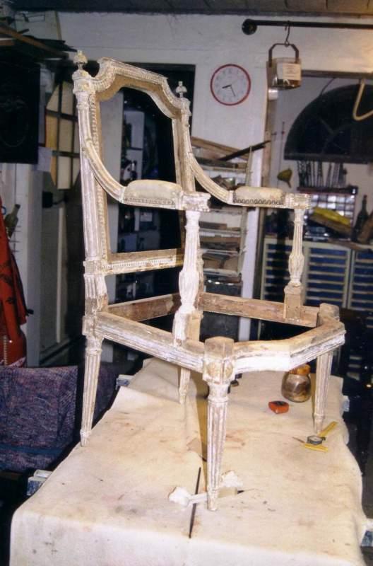 Commande Restauration de mobilier