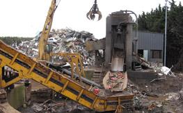 Commande Tri et transfert de déchets industriels banaux