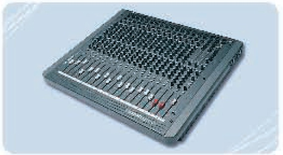 Commande Console de mixage Soundcraft Spirit 16/3