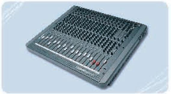 Commande Console de mixage Soundcraft Spirit 16/3
