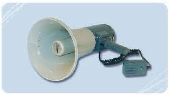Commande Megaphone 25 w