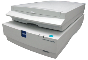Commande Scanner Epson Pro Expression 1680