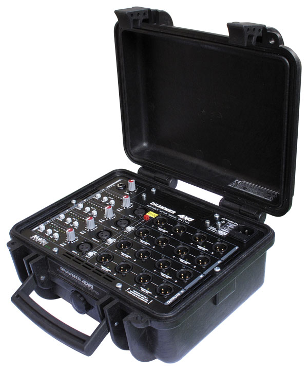 "Commande Boîtier Presse Drawmer 4X4 ""KickBox"""