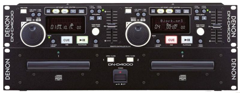 Commande Lecteur Double Denon Dn4000 Mp3
