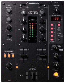 Commande Console DJ Pioneer DJM400