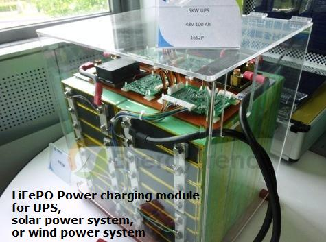 Commande LiFePO4 Module for UPS and big Solar Power System