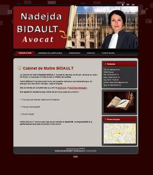 Commande Création de site-carte de visite
