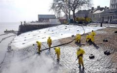 Nettoyage des quais et jetées