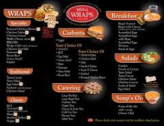 Impression Menus Restaurant.