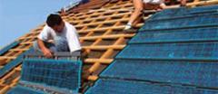 L'installation d'un collecteur solaire