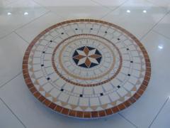 Mosaique Rosace 120