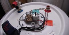 Installation de chauffe-eau