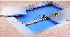 Faux plancher technique surélevé