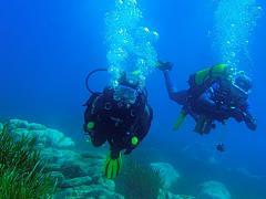 Baptême de plongée en Corse