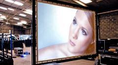 Ecrans de projection et rétro-projection