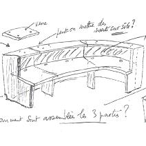 Etude et plan de mobilier