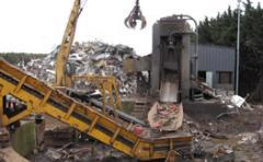Tri et transfert de déchets industriels banaux