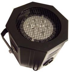Projecteur déco par 38 à led avec télécommande et prise de renvoi