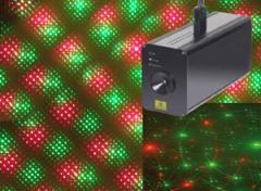 Laser à diffraction vert et rouge