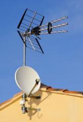 Pose d'antennes tv et d'antennes paraboliques