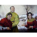 Votre photo en tableau de peintre célèbre